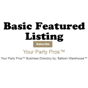 Paid Basic Featured Listing