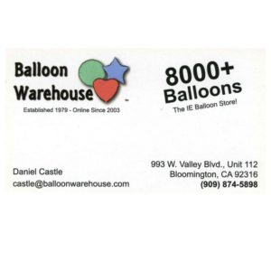 Balloon Warehouse