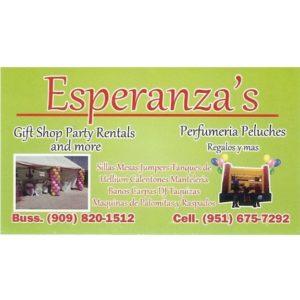 Esperanza's - Party Rentals