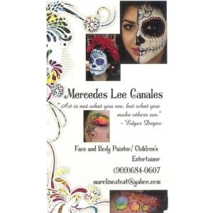 Face Painting by Mercedes
