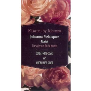 Flowers by Johanna
