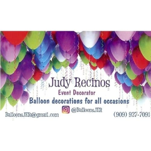 Judy Recinos Balloon Decorations