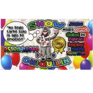 Show De Payasito ChiQuilin - Clown