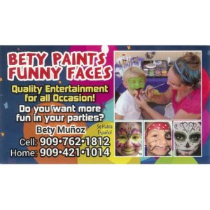 Bety Paints Funny Faces