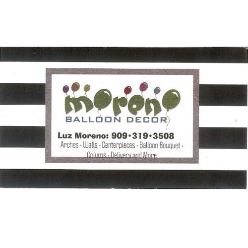 Moreno Balloon Decor
