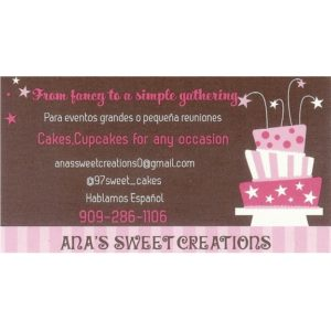 Ana's Sweet Creations