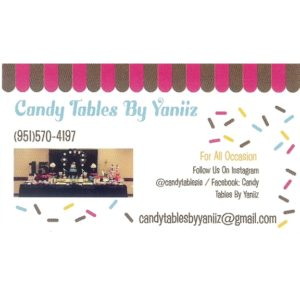 Candy Tables By Yaniiz