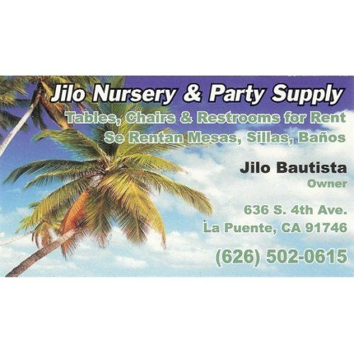 Jilo Nursery & Party Supply
