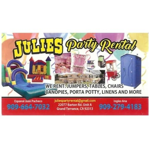 Julies Party Rental