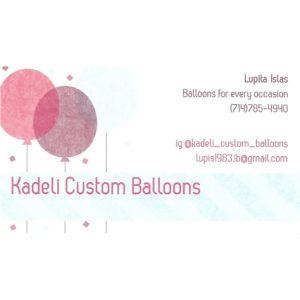 Kadeli Custom Balloons