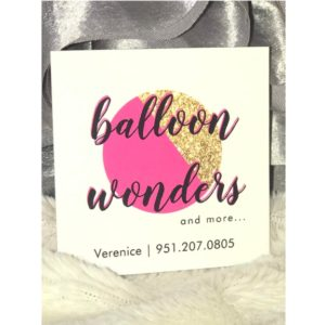 Balloon Wonders and more