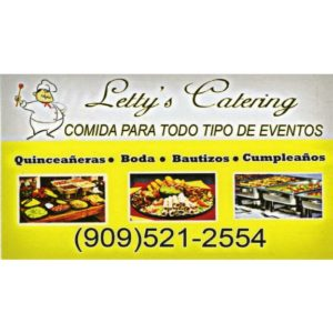 Letty's Catering