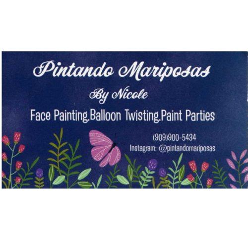Pintando Mariposas by Nicole