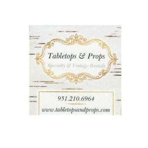 Tabletops and Props