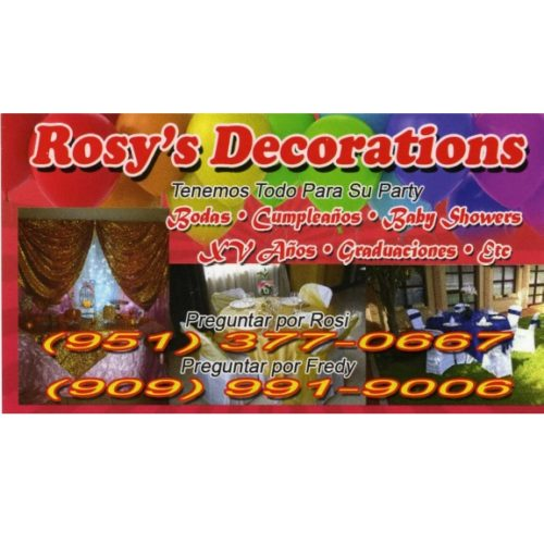 Rosy's Decorations