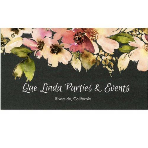 Que Linda Parties & Events