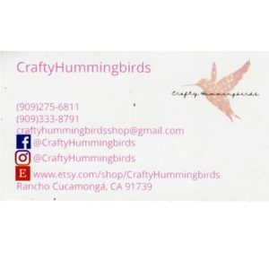 Crafty Hummingbirds