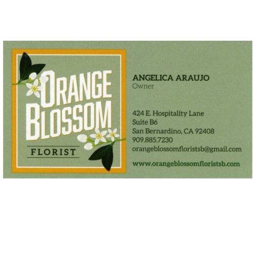 Orange Blossom Florist