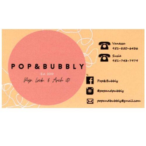 Pop & Bubbly